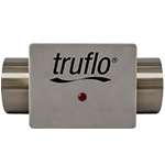 truflow stainless steel in line paddle wheel flow meters series