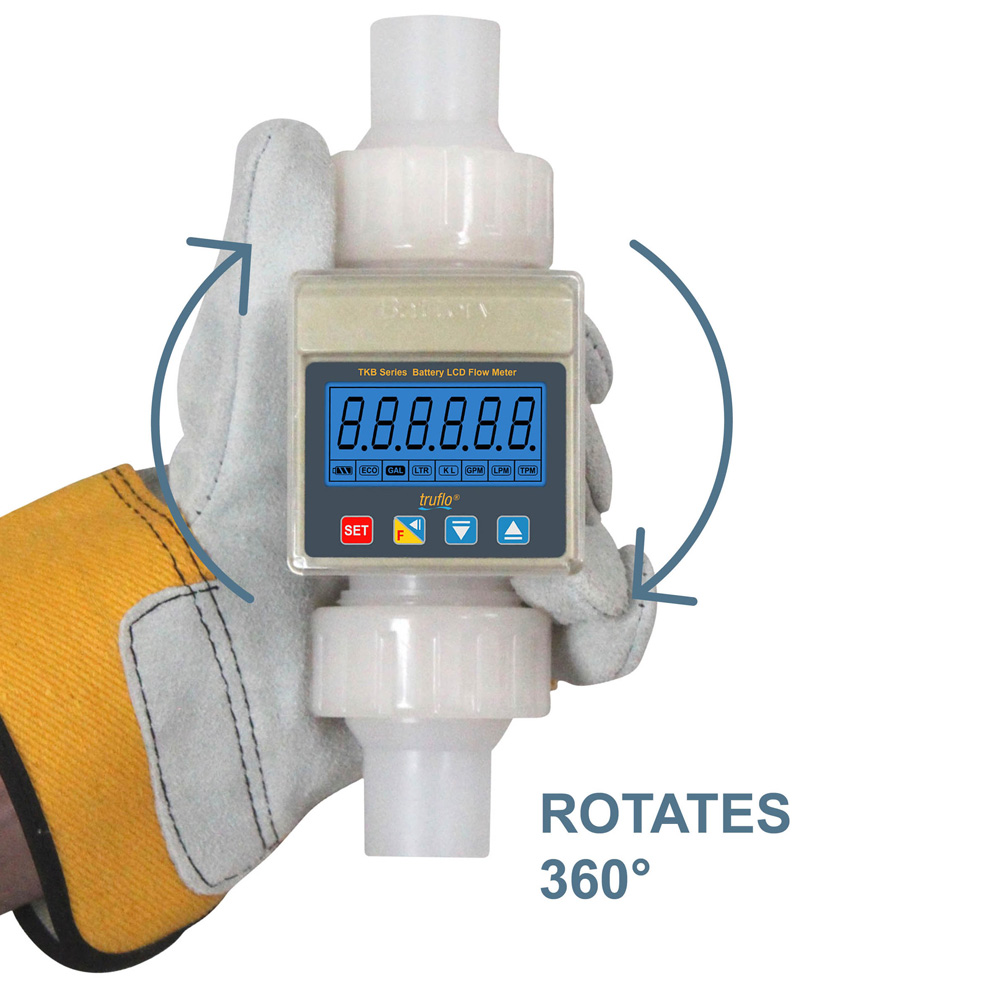 TKB Series – Battery Operated Paddle Wheel Flow Meter