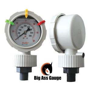 BAG – 'BIG ASS' SERIES – 3″ All Plastic Gauge + Isolator