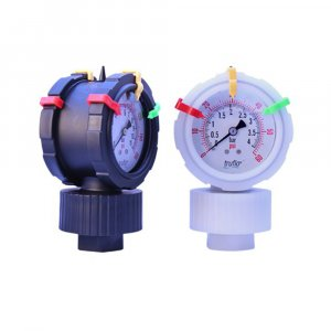 plastic pressure gauge and gauge guard