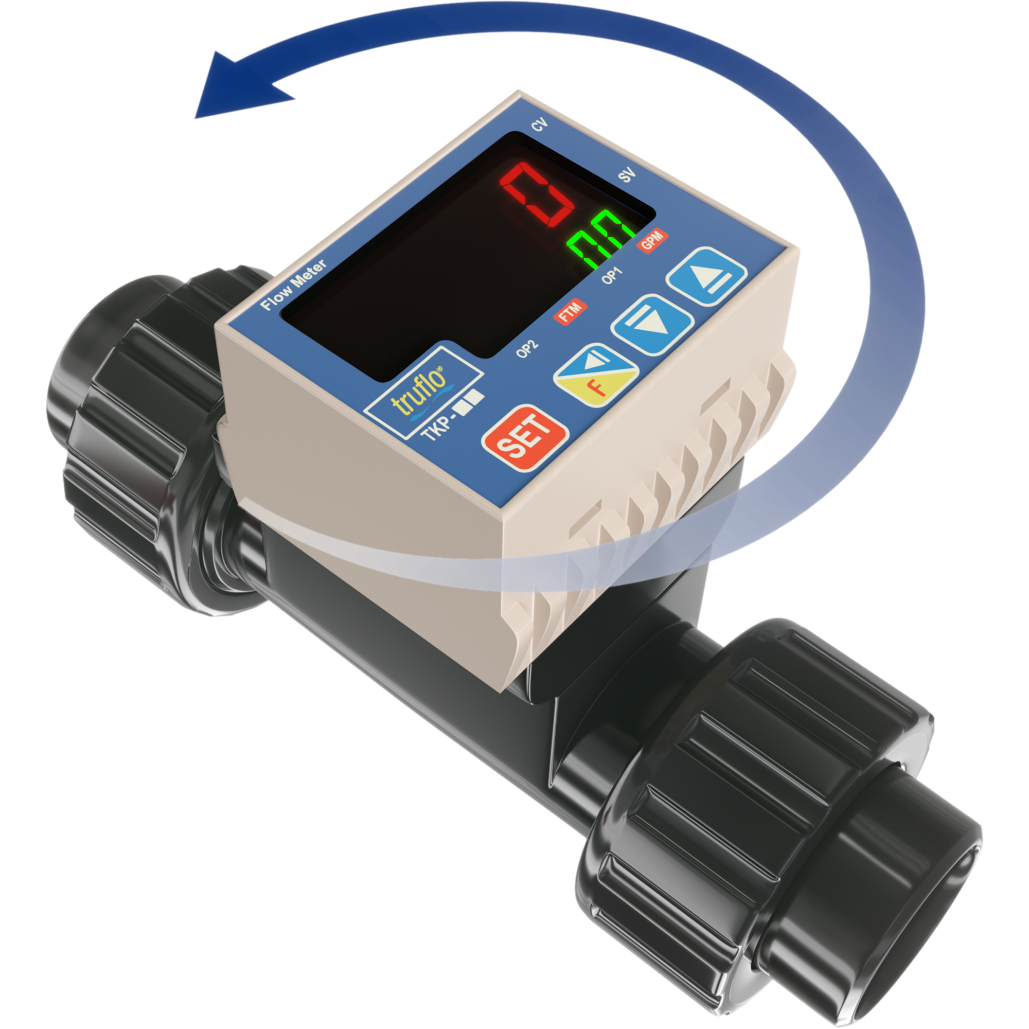 In-Line Paddle Wheel Flow Meter