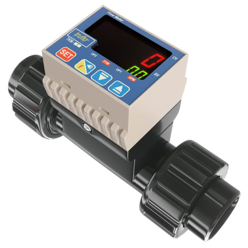 TKM in-line paddle wheel flow meter
