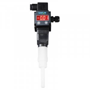 The TPP plastic temperature probe is made from PTFE Teflon with a LED display and 4-20mA and relay outputs with an accuracy of 0.5%