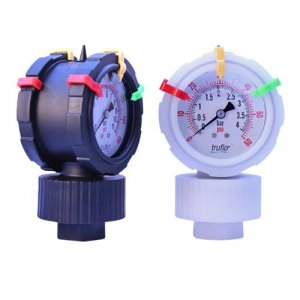 OBS-2VU Series Double Sided All Plastic Gauge + Isolator