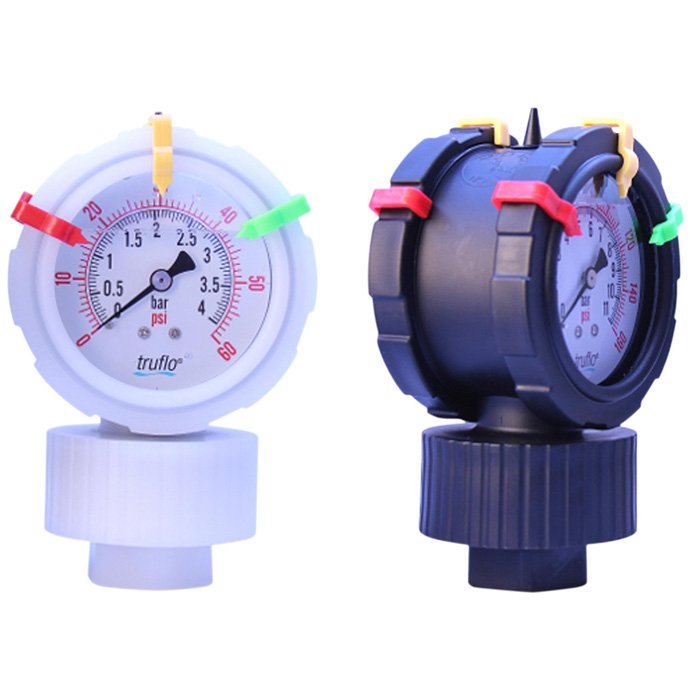 "OBS 2VU Series - 2 ½"" 2-Sided Plastic Gauge & Isolator"