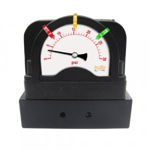 OBS-DP Series All Plastic Panel Mount Gauge + Isolator