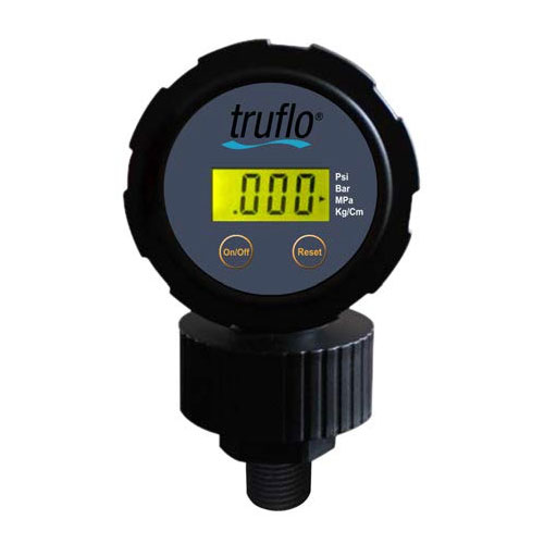 OBS-LC Series - All Plastic Battery Operated Gauge + Isolator