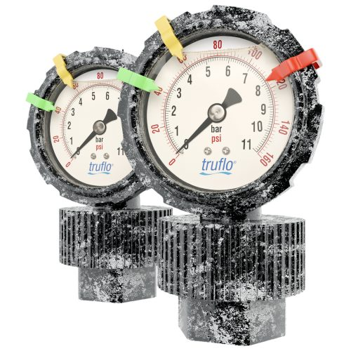 obs-series-all-plastic-corrosion-free-pressure-gauge-and-isolator