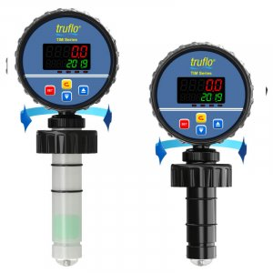 The TIM insertion paddle wheel flow meter provides flow rate and total a 4-20mA output. LED Display.