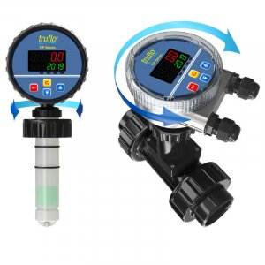The TIP insertion paddle wheel flow meter provides flow rate and flow total with pulse and RS485 outputs.