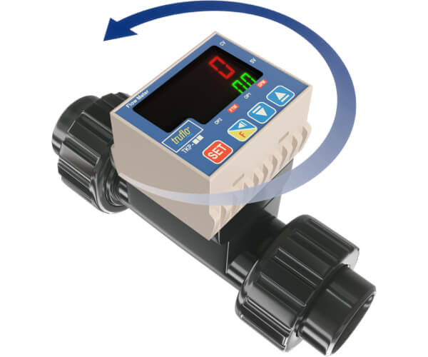 tkp in line paddle wheel flow meters series