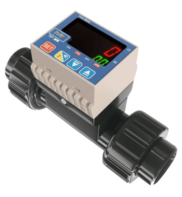 tkp in line paddle wheel flow meters series4