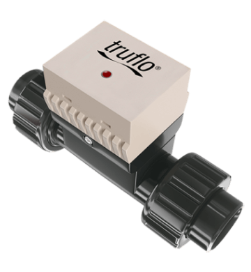 truflow in line paddle wheel flow meters series5