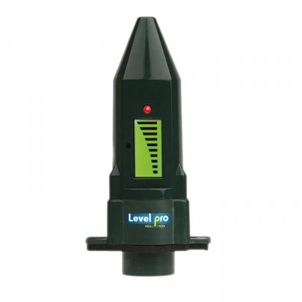 The ViewSonic ultrasonic tank level sensor measures liquid level in tanks or sumps. Battery operated and LCD level display indication.