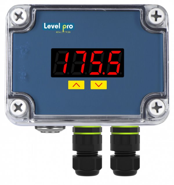 250b battery operated tank level display