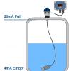 250b battery powered liquid level tank display